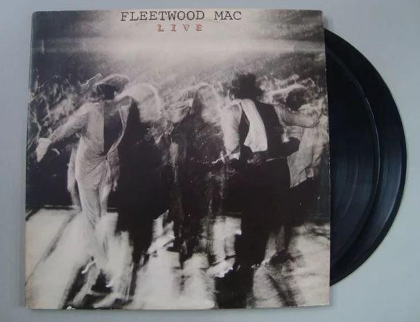Disco de vinil - Fleetwood Mac - Live
