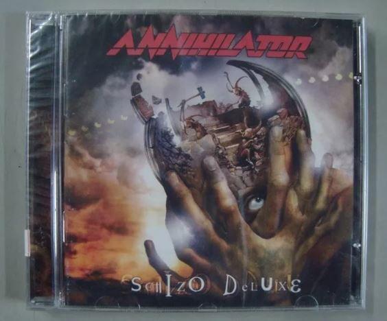 Cd Annihilator - Schizo Deluxe (novo, Lacrado)