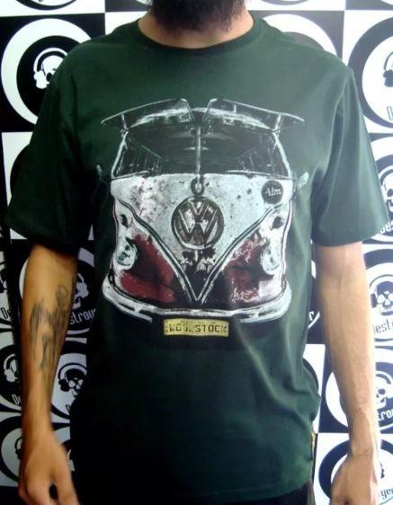 Camiseta Kombi de Woodstock