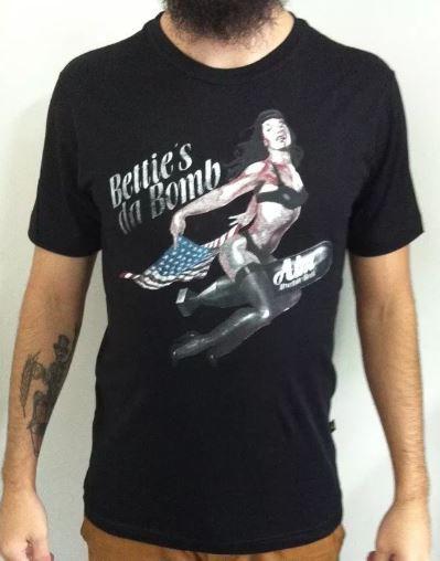 Camiseta Bettie's da Bomb