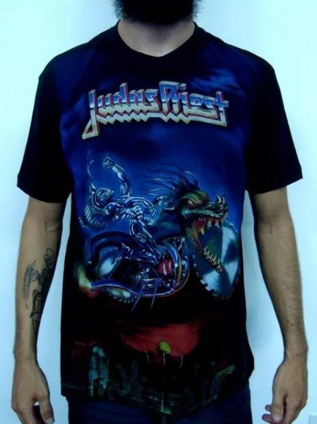Camiseta Judas Priest - Painkiller