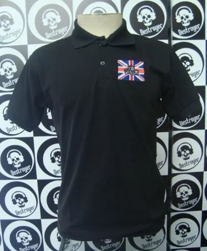 Camiseta Polo Sex Pistols