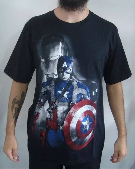 Camiseta Capitão América - Guerra Civil