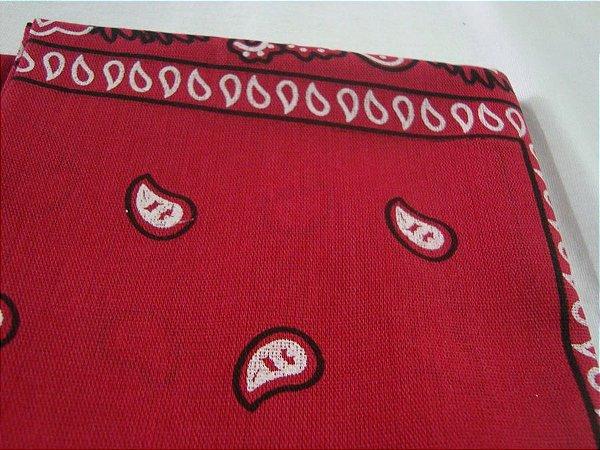 Bandana Clássica Vermelha