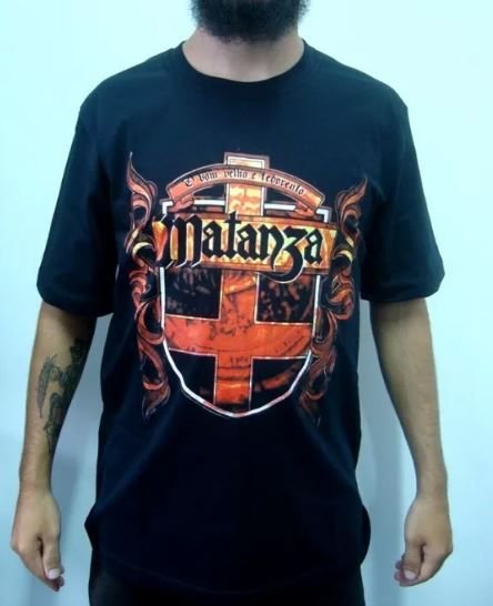 Camiseta Matanza - O Bom Velho e Fedorento