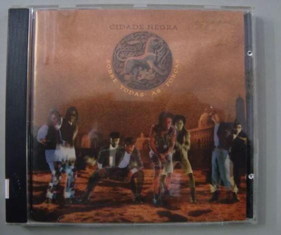 CD Cidade Negra - Sobre todas as forças