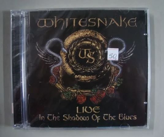CD Whitesnake - Live in the Shadow of the Blues