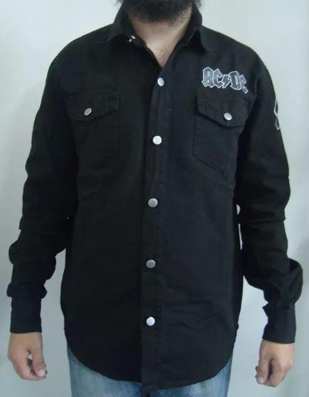 Camisa de Sarja - AC DC