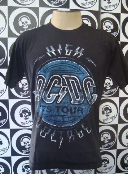 Camiseta AC DC - High Voltage