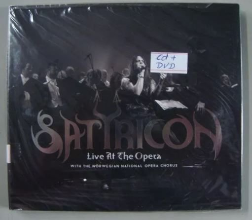 Cd + Dvd - Satyricon - Live At The Opera