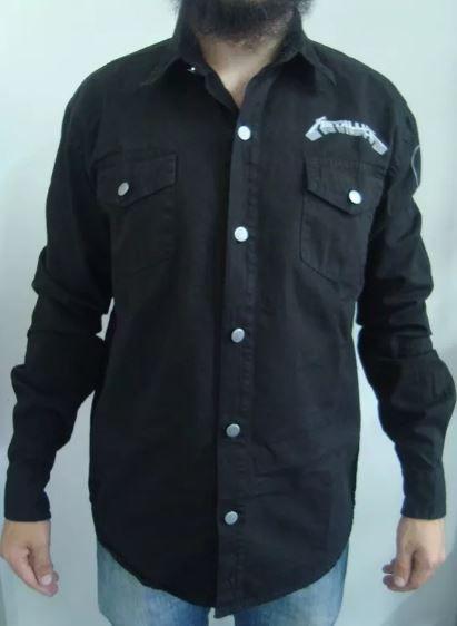 Camisa de Sarja - Metallica