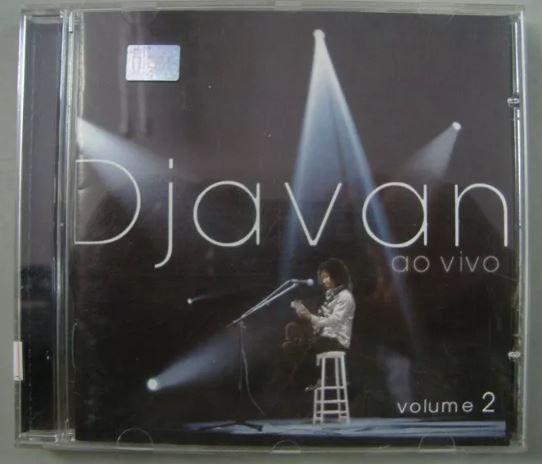 Cd - Djavan - Ao Vivo Volume 2