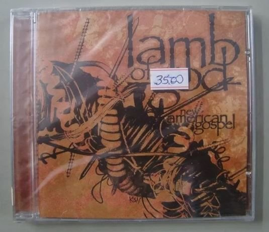 Cd Lamb Of God - New American Gospel