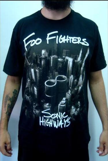 Camiseta Foo Fighters - Sonic Highways