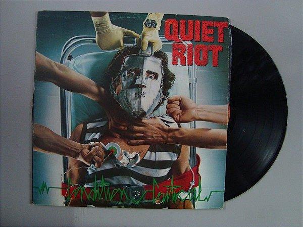 Disco de vinil - Quiet Riot - Condition Critical