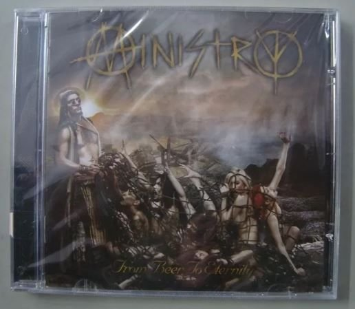 Cd - Ministry - From Beer To Eternity