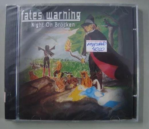 CD Fates Warning - Night on Brocken - Importado