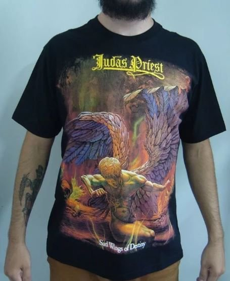 Camiseta Judas Priest - Sad Wings of Destiny