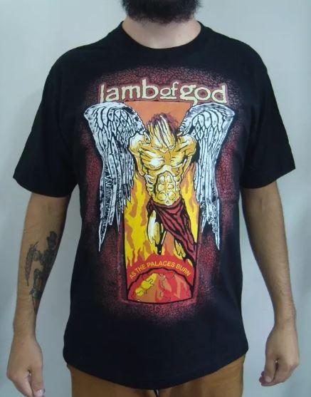 Camiseta Lamb of God - As The Palaces Burn