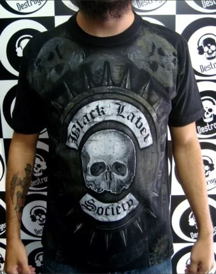 Camiseta - Black Label Society - Especial Tshirt