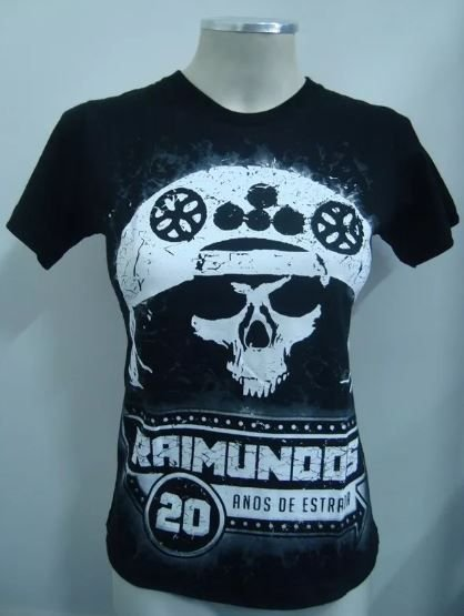 Baby look - Raimundos - 20 anos de Raimundos