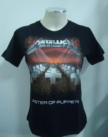 Baby look Metallica - Master of Puppets