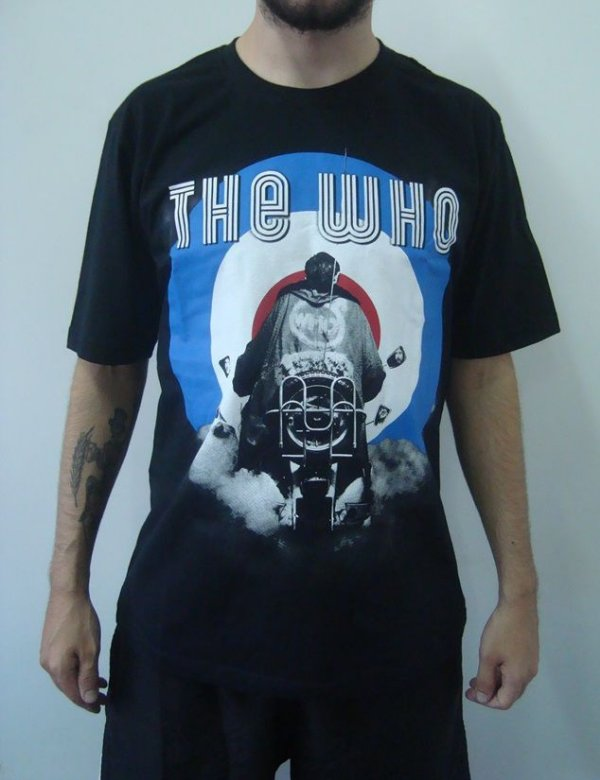 Camiseta Promocional - The Who