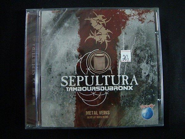 CD Sepultura - Tambours du Bronx