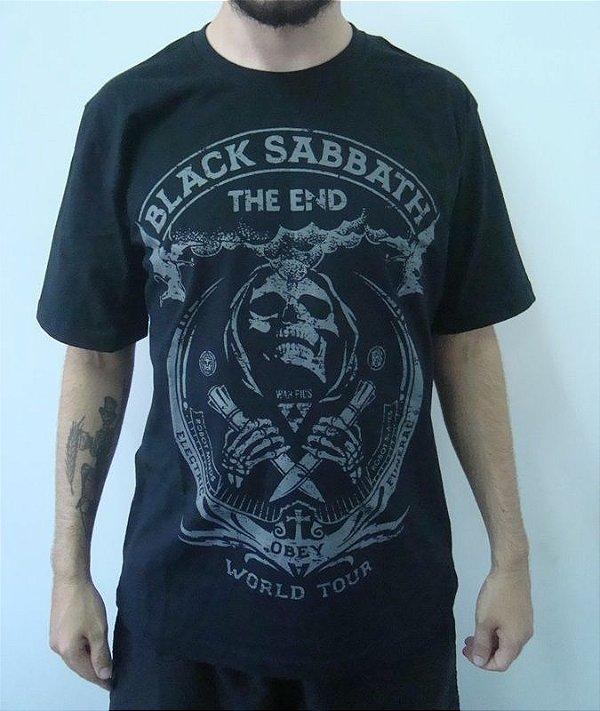 Camiseta Promocional - Black Sabbath - The End - Obey