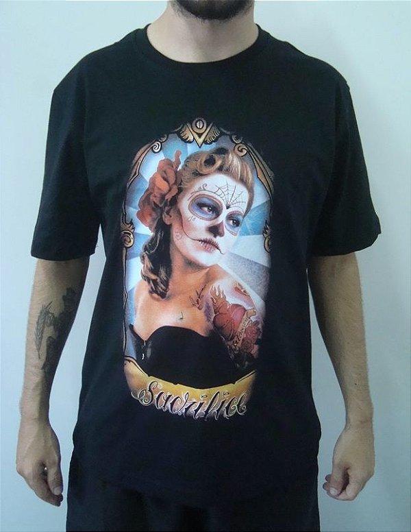 Camiseta Promocional - La Catrina - Sacrifice