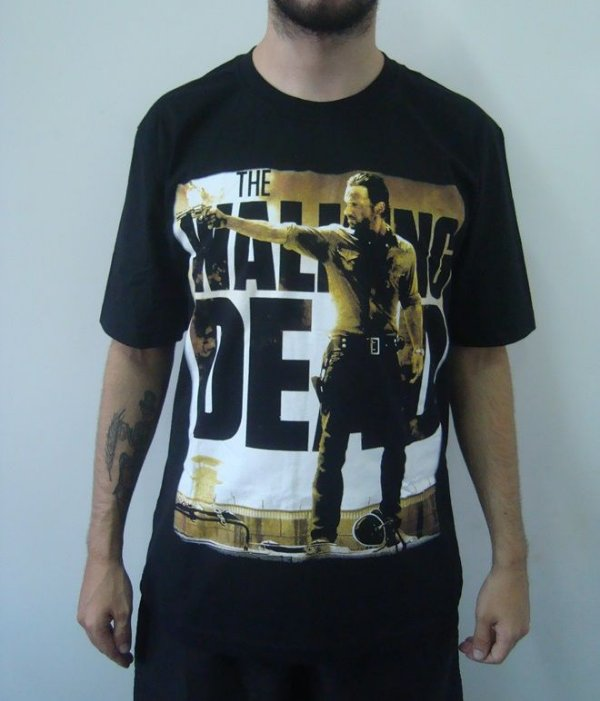 Camiseta Promocional - The Walking Dead - Rick