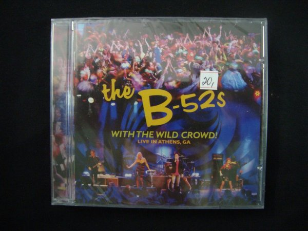 CD The B-52s - With the Wild Crowd! - Live in Athens