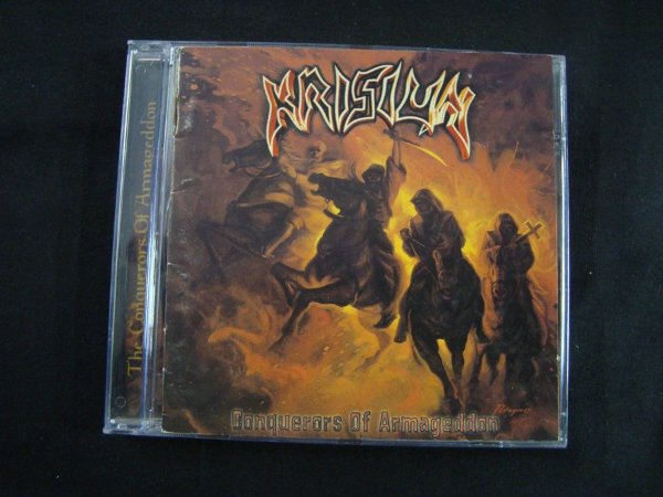 CD Krisiun - Conquerors of Armageddon