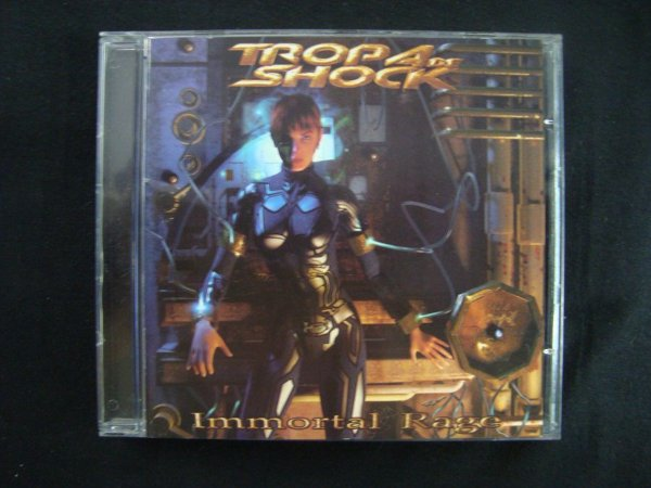 CD Tropa de Shock - Immortal Rage