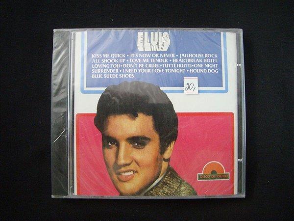 CD Elvis Presley - Disco de ouro