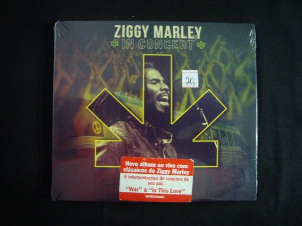 CD Ziggy Marley - In Concert