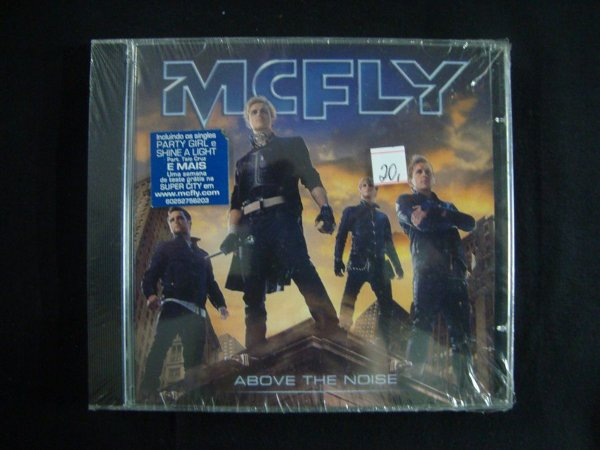 CD MCFly - Above the Noise