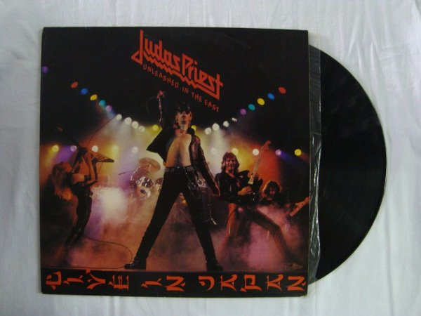 Disco de vinil - Judas Priest - Unleashed in the east