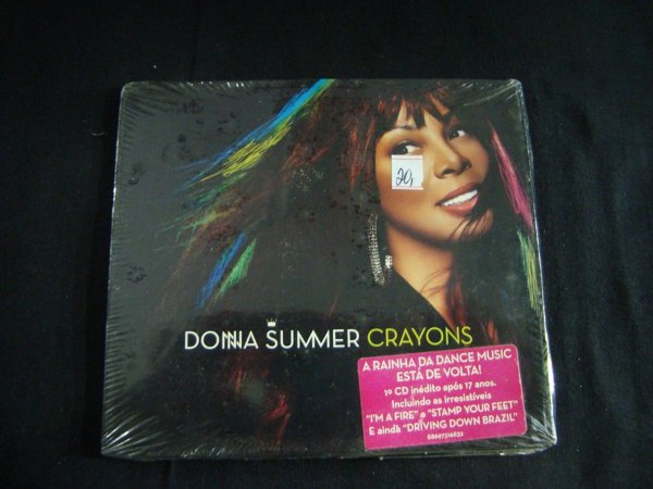 CD Donna Summer - Crayons