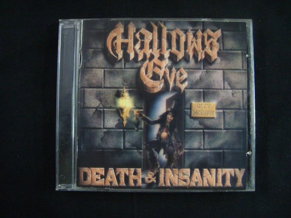 CD Hallows Eve - Death & Insanity
