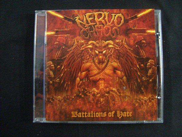 CD Nervochaos - Batallions of Hate