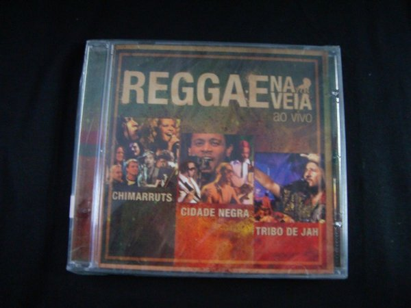 CD Reggae na veia - Ao vivo
