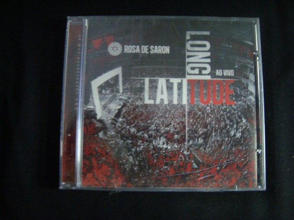 CD Rosa de Saron - Latitude Longitude - Ao Vivo