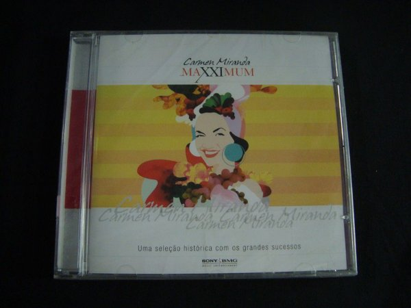 CD Carmen Miranda - Maxximum Coletânea