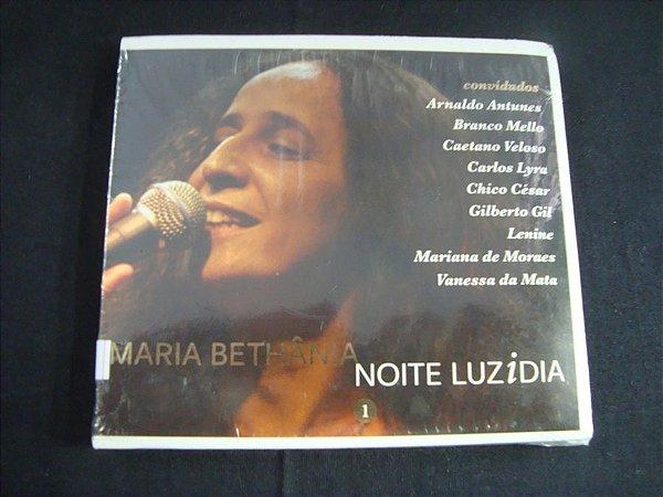 CD Maria Bethânia - Noite Luzidia