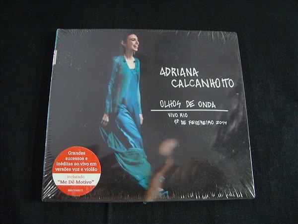 CD Adriana Calcanhoto - Olhos de Onda - Ao vivo no Rio