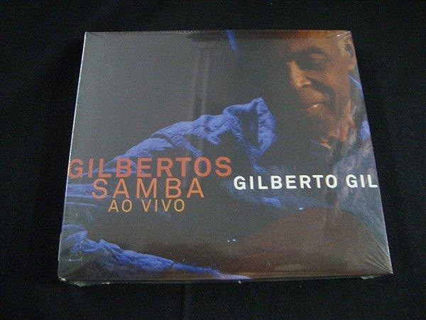 CD Gilberto Gil - Gilbertos - Samba ao vivo