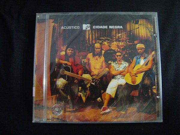 CD Cidade Negra - Acústico MTV