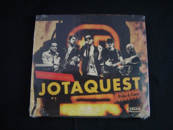 CD Jota Quest - Folia & Caos
