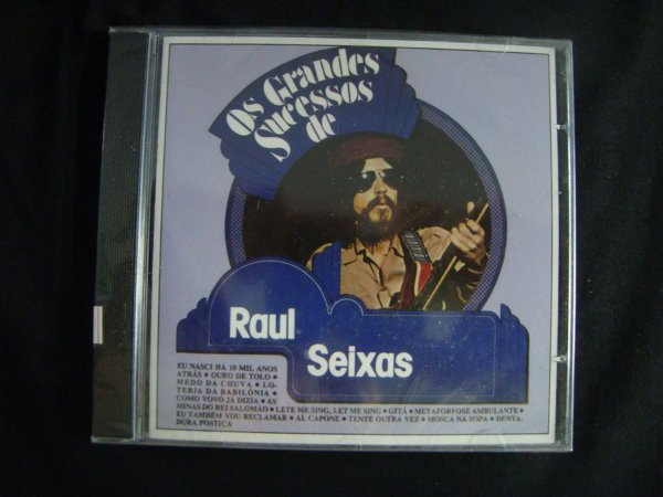 CD Grandes Sucessos do Raul Seixas